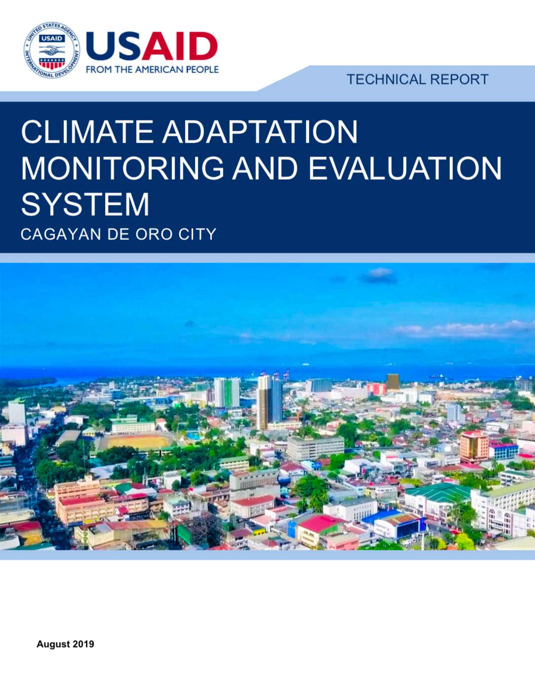 ATLAS CCA Monitoring and Evaluation System cover page