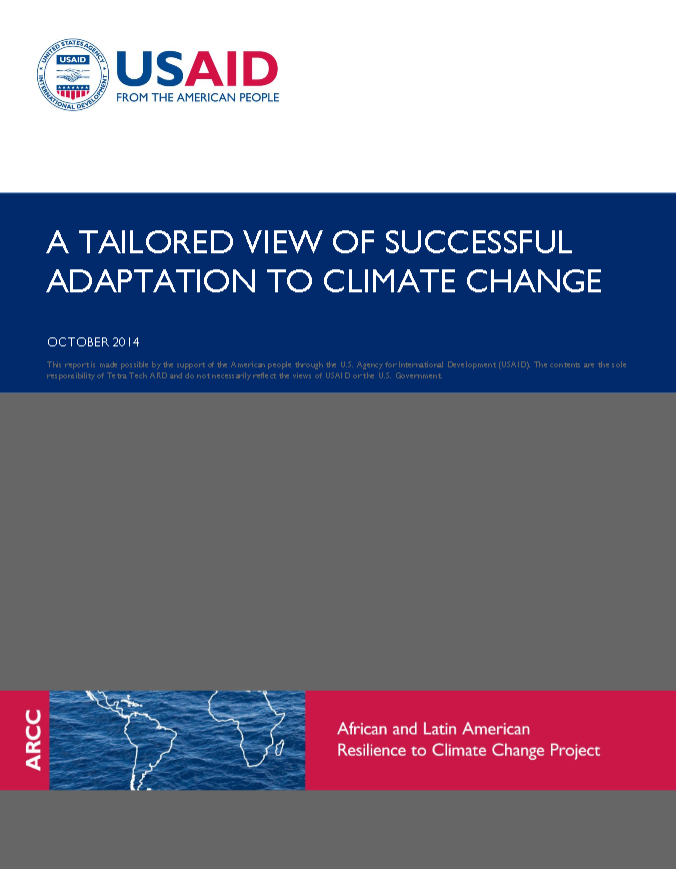 A Tailored View of Successful Adaptation to Climate Change