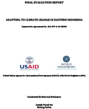 Adapting to Climate Change in Eastern Indonesia