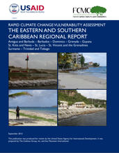 Rapid Climate Change Vulnerability Assessment: The Eastern and Southern Caribbean Regional Report Thumbnail