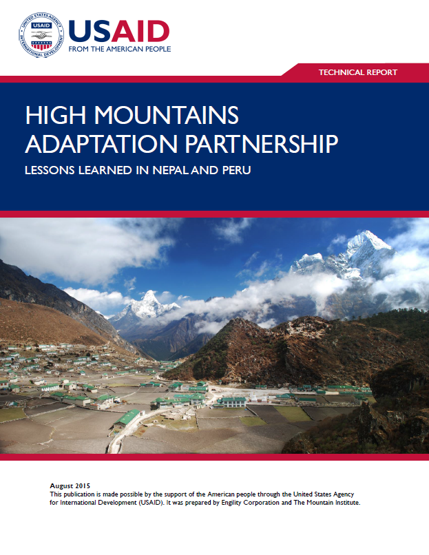 High Mountains Adaptation Partnership: Lessons Learned in Nepal and Peru