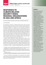 Responses to Climate-Related Security Risks: Regional Organizations in Asia and Africa