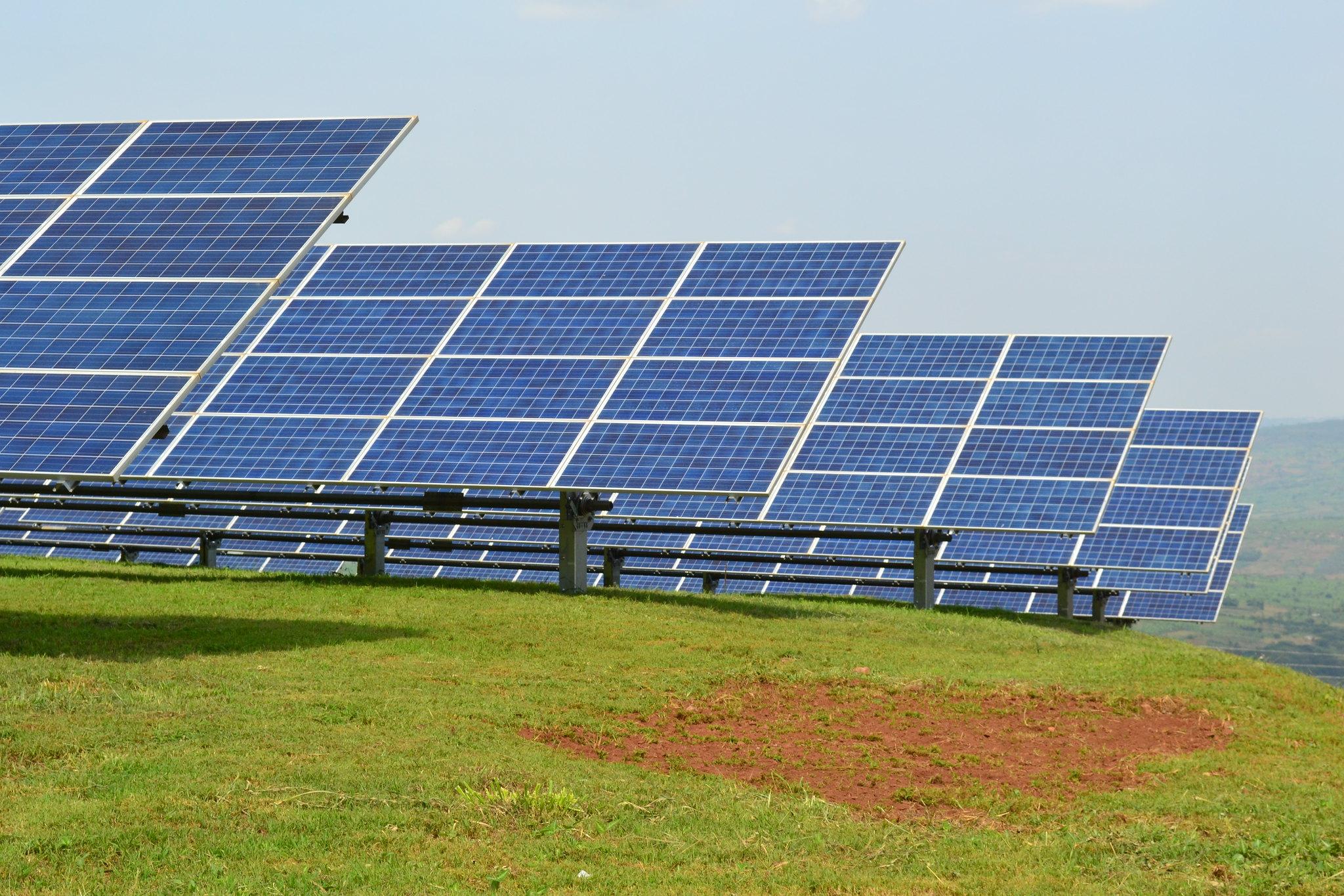 Rwanda Solar Energy Field