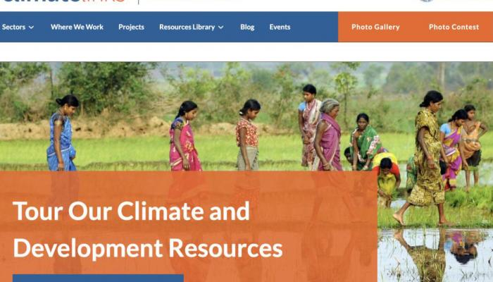 Climatelinks homepage