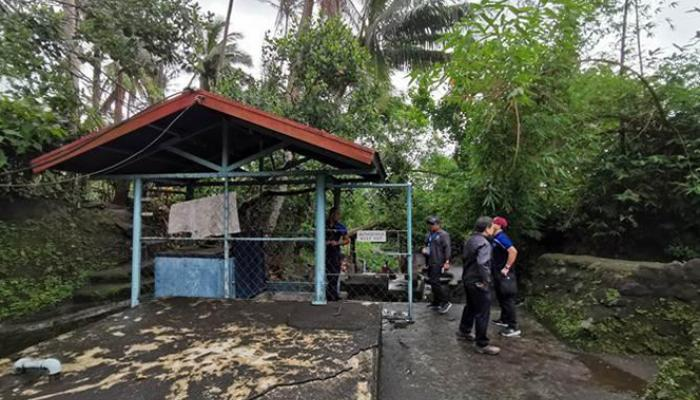 A team from the Legazpi City Water District was mobilized to inspect the springs facility right after Typhoon Kammuri hit the Philippines in December 2019.