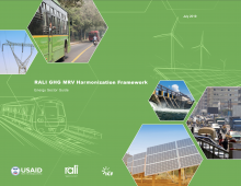 RALI GHG Harmonization Framework Energy Photo