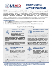 2020 USAID SERVIR Brief Evaluation