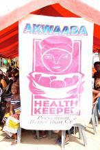Ghana health sign