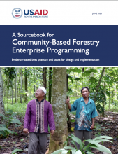 A Sourcebook for Community-Based Forestry Enterprise Programming photo