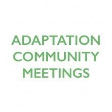 Adaptation Community Meetings logo