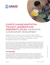 Climate Change Adaptation, Thought Leadership and Assessments (ATLAS)