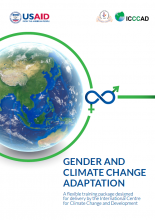Gender and Climate Change Adaptation: A flexible training package