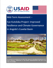 Mid-Term Assessment - Eye Kutoloka Project: Improved Resilience and Climate Governance in Angola's Cuvelai Basin