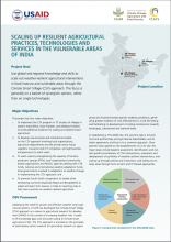 CCAFS Scaling up Resilient Agriculture in India cover