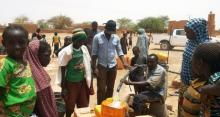 Solar-powered water pumping in Niger