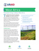 Renewable Energy Lending in West Africa