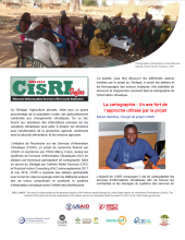 Bulletin de l'Initiative de recherche sur les services d'information climatique (CISRI) Sénégal, témoignages des acteurs sur la cartographie participative