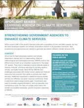 Strengthening Government Agencies to Enhance Climate Services photo