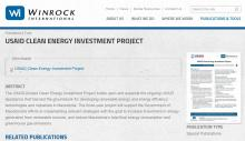 Clean Energy Investment Project