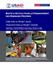Boite à Outils pour le Financement des Énergies Propres (Clean Energy Lending Toolkit)