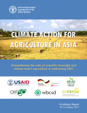 Climate Action for Agriculture in Asia