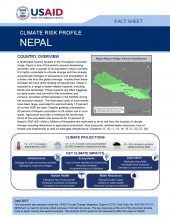 Climate Risk Profile: Nepal