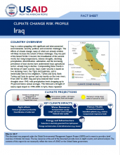 Climate Change Risk Profile: Iraq