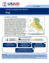 Climate Change Risk Profile: Iraq