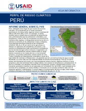 Climate Risk Profile: Peru (Spanish)