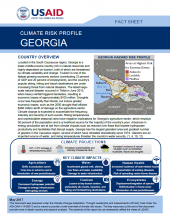 Climate Change Risk Profile: Georgia