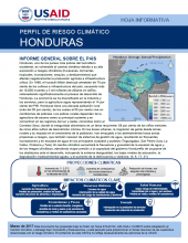 Climate Risk Profile: Honduras (Spanish)