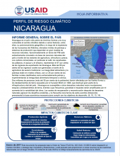 Climate Risk Profile: Nicaragua (Spanish)