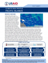 Climate Risk Profile: Pacific Islands