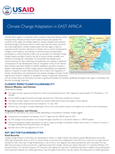 Climate Change Adaptation in East Africa Fact Sheet Thumbnail