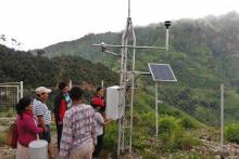 Climate and weather data Nepal photo