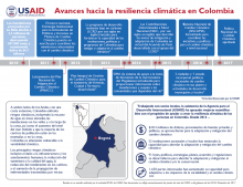 Progress Toward Climate Resilience in Colombia - Spanish