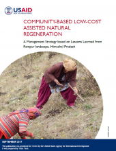 Community-Based Low-Cost Assisted Natural Regeneration: A Management Strategy Based on Lessons Learned from Rampur Landscape, Himachal Pradesh