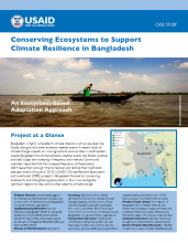 Conserving Ecosystems to Support Climate Resilience in Bangladesh