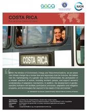 Costa Rica ccGAP factsheet