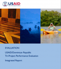 USAID/Dominican Republic Tri-Project Performance Evaluation: Integrated Report