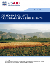 Designing Climate Vulnerability Assessments