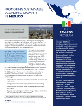Promoting Sustainable Economic Growth in Mexico