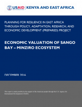 Economic Valuation of Sango Bay - Minziro Ecosystem