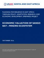 Economic Valuation of Sango Bay - Minziro Ecosystem