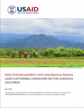 Effective Engagement with Indigenous Peoples: USAID Sustainable Landscapes Sector Guidance photo