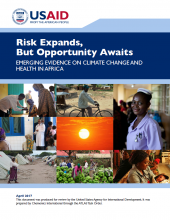 Risk Expands, But Opportunity Awaits: Emerging Evidence on Climate Change and Health in Africa