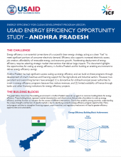 USAID Energy Efficiency Opportunity Study - Andhra Pradesh