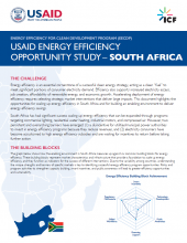 USAID Energy Efficiency Opportunity Study - South Africa