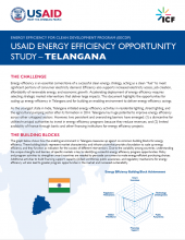 USAID Energy Efficiency Opportunity Study - Telangana