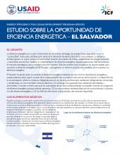 Estudio Sobre la Oportunidad de Eficiencia Energética - El Salvador